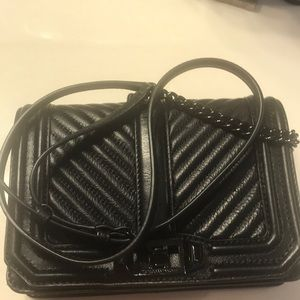 Small Black Rebecca Minkoff crossbody handbag